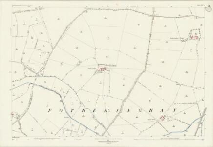 Northamptonshire XIII.6 (includes: Fotheringhay; Nassington; Woodnewton) - 25 Inch Map