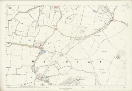 Worcestershire XXIX.4 (includes: Hanbury) - 25 Inch Map