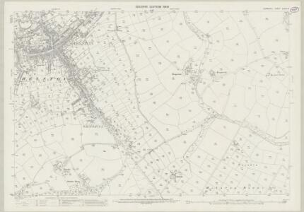 Cornwall LXXVI.10 (includes: Helston; Wendron) - 25 Inch Map