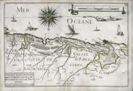 Parties des capitaineries garde costes de Bourdeaux et de Bayonne
