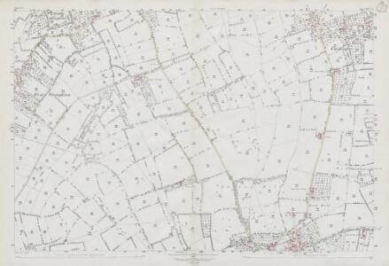 Somerset XXVI.16 (includes: Wedmore) - 25 Inch Map
