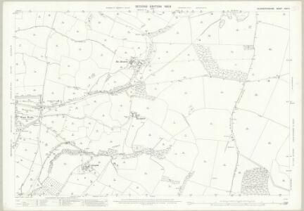 Gloucestershire XXVII.5 (includes: Charlton Kings; Cheltenham; Prestbury; Sevenhampton; Whittington) - 25 Inch Map