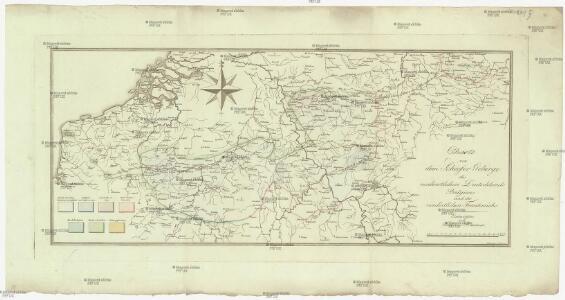 Charte von dem Schiefer Gebirge des nordwestlichen Deutschlands Belgiens und des nordöstlichen Frankreichs