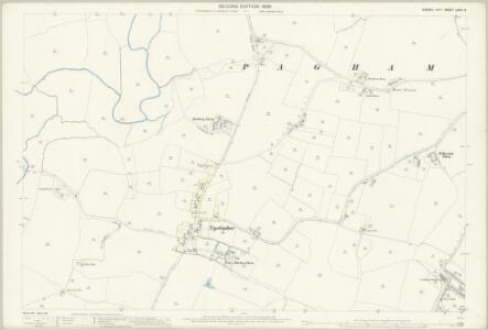 Sussex LXXIII.8 (includes: Bognor Regis; Pagham) - 25 Inch Map