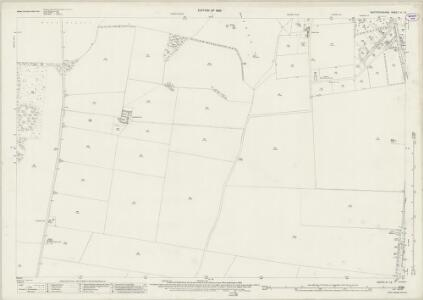 Hertfordshire IV.12 (includes: Reed; Royston; Therfield) - 25 Inch Map