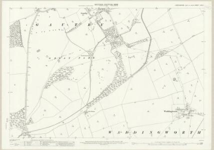 Lincolnshire LXXII.7 (includes: Gautby; Tupholme; Waddingworth) - 25 Inch Map