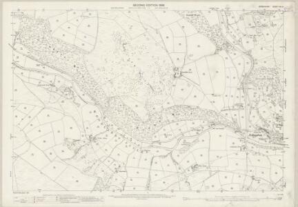 Derbyshire VII.14 (includes: Derwent; Hope Woodlands; Hope) - 25 Inch Map