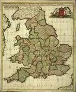 Anglia regnum in omnes suos ducatus, comitatus, et provincias divisum