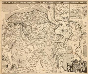 Tabulae Dominii Groeningae Quae Et Complectitur Maximam Partem Drentiae
