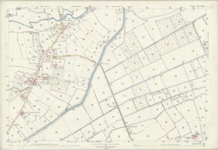 Somerset LXXXI.3 (includes: Curry Rivel; Drayton; Kingsbury Episcopi) - 25 Inch Map