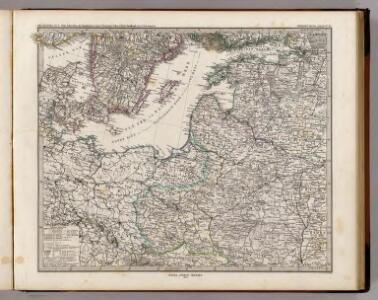 Ost-Europa, No. 3: Sud-Schweden, die Russischen Ostsee-Provinzen, Polen & West-Russland.