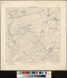 Meßtischblatt 1109 : Neustadt - Gödens, 1900