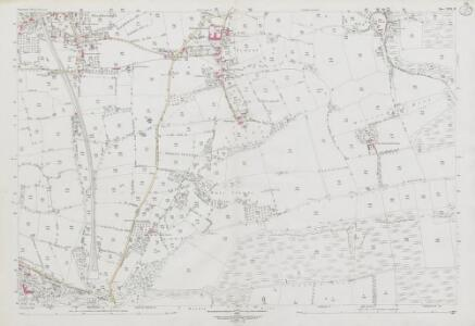 Somerset XVII.12 (includes: Axbridge; Cheddar; Compton Bishop; Shipham; Winscombe) - 25 Inch Map