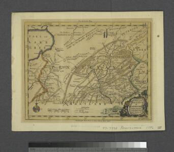 A map of the province of Pensilvania / drawn from the best authorities, by T. Kitchin, gr.