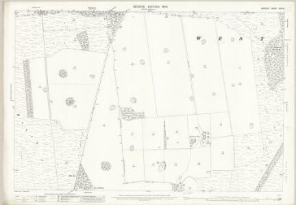 Norfolk XCIII.8 (includes: Croxton; Sturston; Wretham) - 25 Inch Map