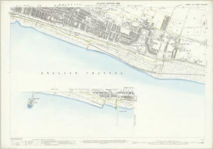 Sussex LXVI.13 & 14 (includes: Brighton) - 25 Inch Map