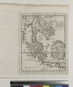 Siam, Malacca and the Indian Islands.