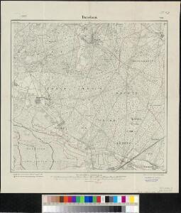 Meßtischblatt 2039 : Damelang, 1905