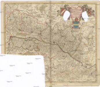 Utriusque ALSATIAE, DUCATUS DUPONTII, et SPIRENSIS EPISCOPATUS Novißima Descriptio