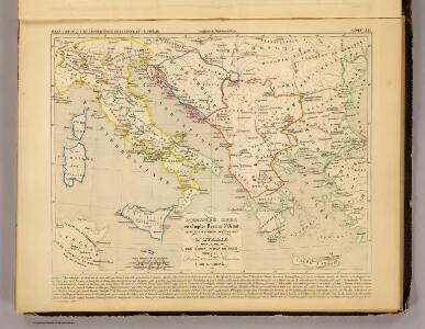 L'Empire Grec, l'Italie, 900 a 1002.