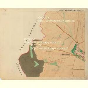 Cwalatitz - m0989-1-005 - Kaiserpflichtexemplar der Landkarten des stabilen Katasters