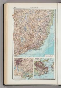 229.  Brazil, South East, Sao Paulo Region, Rio de Janeiro.  The World Atlas.