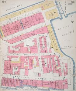 Insurance Plan of London Vol. V: sheet 106