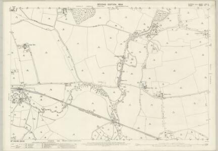 Suffolk LXXII.2 (includes: Foxearth; Glemsford; Liston; Long Melford) - 25 Inch Map