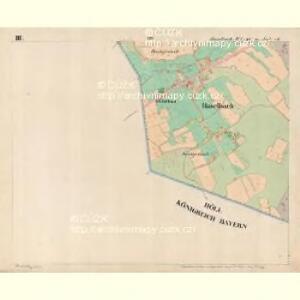 Haselbach - c4128-3-003 - Kaiserpflichtexemplar der Landkarten des stabilen Katasters
