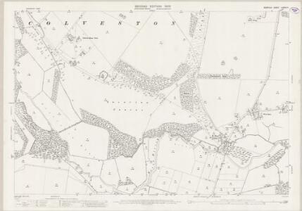 Norfolk LXXXIII.9 (includes: Cranwich; Ickburgh; Lynford; Mundford) - 25 Inch Map