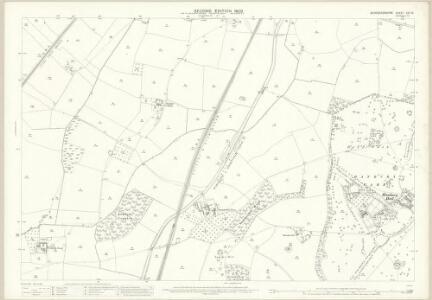 Worcestershire XXII.15 (includes: Dodderhill; Hanbury) - 25 Inch Map