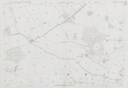 Somerset LXXXIV.12 (includes: Henstridge; Purse Caundle; Stalbridge) - 25 Inch Map