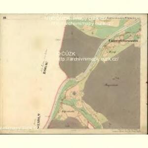 Unterreichenstein - c6481-1-003 - Kaiserpflichtexemplar der Landkarten des stabilen Katasters