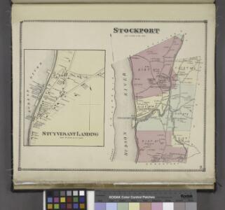 Stuyvesant Landing [Village]; Stockport [Township]