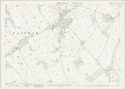 Cheshire XXIII.9 (includes: Eastham; Ellesmere Port) - 25 Inch Map