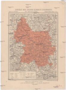 Generální mapa okresního hejtmanství Strakonického