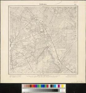 Meßtischblatt 1519 : Markhausen, 1900