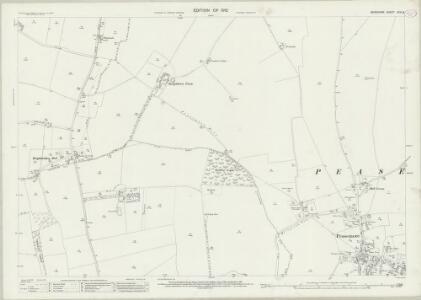 Berkshire XXVI.8 (includes: Brightwalton; Leckhampstead; Peasemore) - 25 Inch Map