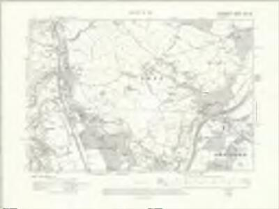 Denbighshire XXI.SE - OS Six-Inch Map