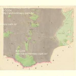 Langendörflas - c1151-1-004 - Kaiserpflichtexemplar der Landkarten des stabilen Katasters