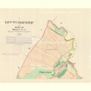 Dittersdorf - m0440-1-001 - Kaiserpflichtexemplar der Landkarten des stabilen Katasters
