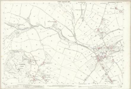 Worcestershire VIII.10 (includes: Kidderminster Borough; Kidderminster Foreign; Wolverley) - 25 Inch Map