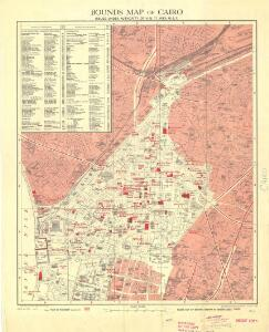 Cairo [Bounds maps of ] (1946)