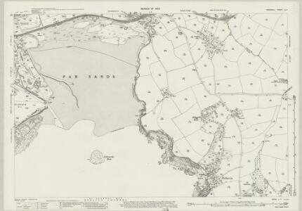 Cornwall LI.7 (includes: Fowey; St Austell; Tywardreath) - 25 Inch Map