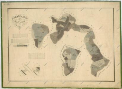 Hospodářská mapa revíru Podzámčí