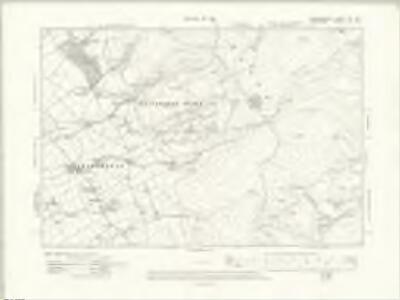 Denbighshire XIV.NE - OS Six-Inch Map