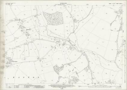 Essex (New Series 1913-) n XXXIII.3 (includes: Great Dunmow; Great Easton; Little Easton) - 25 Inch Map