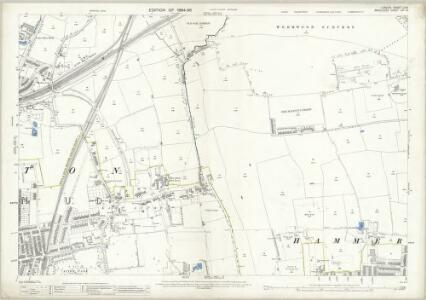 London (Edition of 1894-96) LVIII (includes: Acton; Hammersmith) - 25 Inch Map