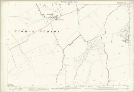 Hertfordshire VI.10 (includes: Barton in The Clay; Hexton; Higham Gobion; Shillington) - 25 Inch Map