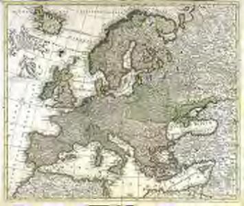 Accuratissima Europæ tabula